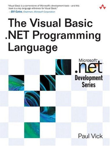 The Visual Basic .Net Programming Language