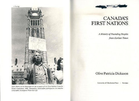 Canada'S First Nations: A History Of Founding Peoples From Earliest Times (Civilization Of The American Indian)