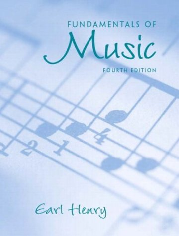 Fundamentals Of Music, Fourth Edition (Book Only)