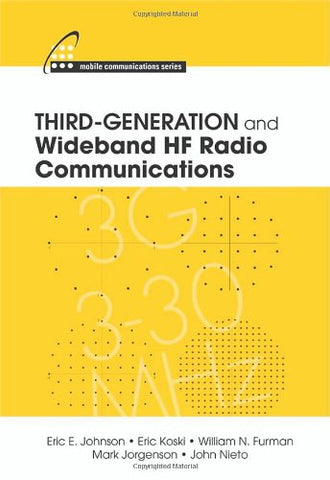 Third-Generation And Wideband Hf Radio Communications (Mobile Communications)