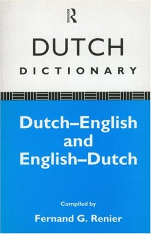 Dutch Dictionary: Dutch-English, English-Dutch