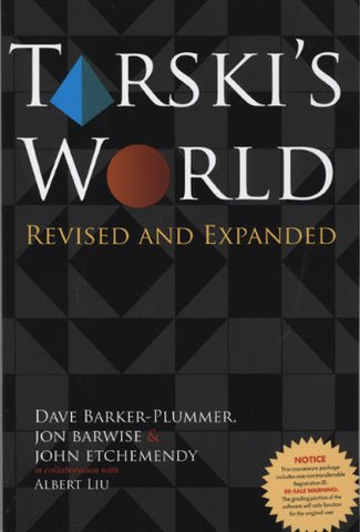 Tarski'S World: Revised And Expanded (Lecture Notes)