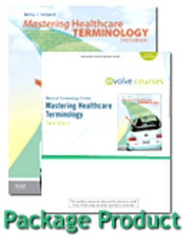 Medical Terminology Online For Mastering Healthcare Terminology - Spiral Bound  (Access Code) With Textbook Package, 3E