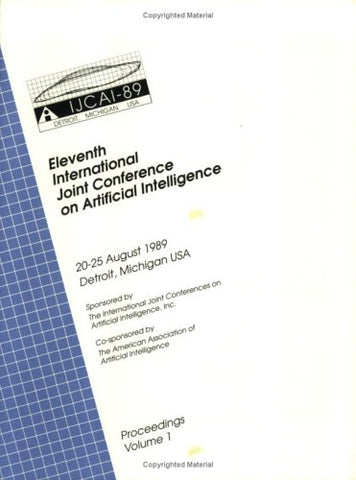 Ijcai Proceedings 1989 (International Joint Conference On Artificial Intelligence//Proceedings)
