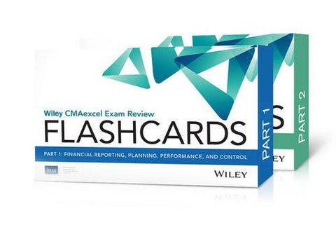 Wiley Cmaexcel Exam Review 2016 Flashcards: Complete Set