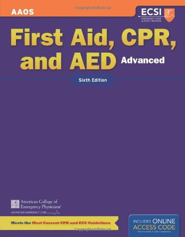 Advanced First Aid, Cpr And Aed