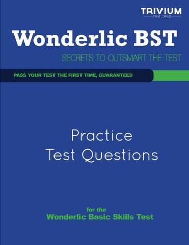 Wonderlic Practice Test Questions