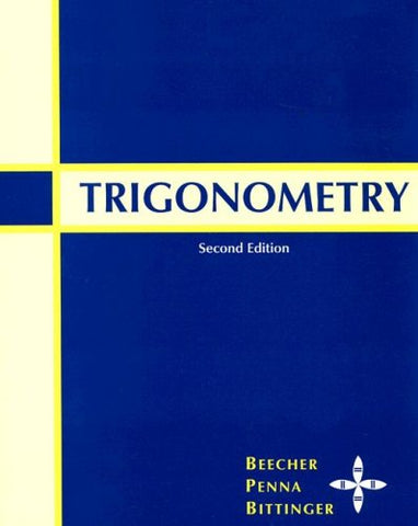Trigonometry (2Nd Edition)