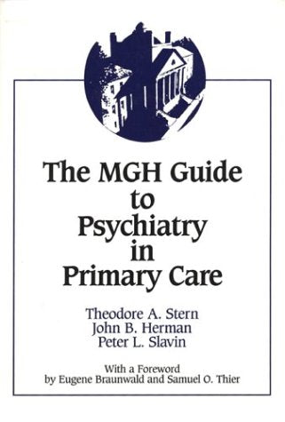 The Mgh Guide To Psychiatry In Primary Care