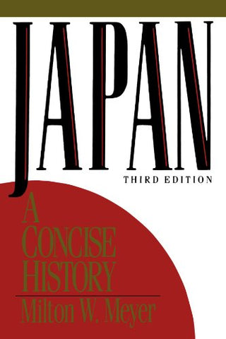 Japan: A Concise History (Littlefield Adams Quality Paperbacks)