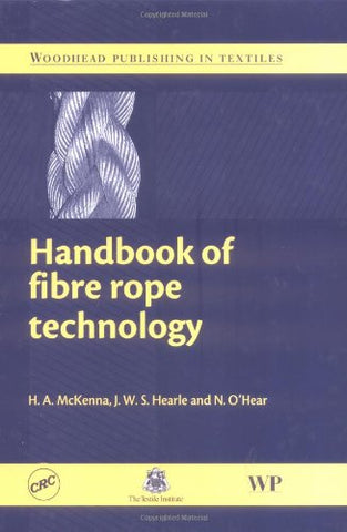 Handbook Of Fibre Rope Technology
