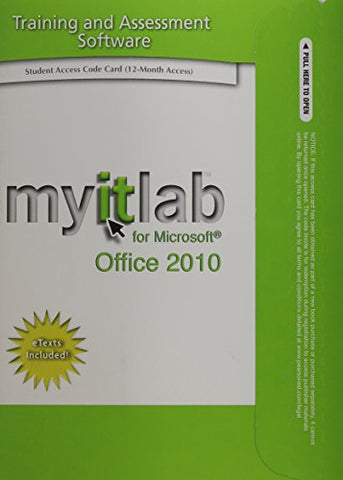 Myitlab With Pearson Etext -- Access Card -- For Go! With Microsoft Office 2010