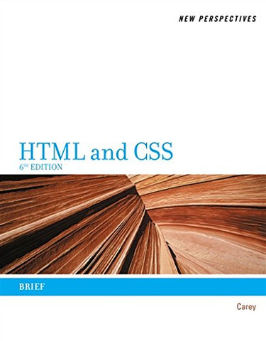 New Perspectives On Html And Css: Brief