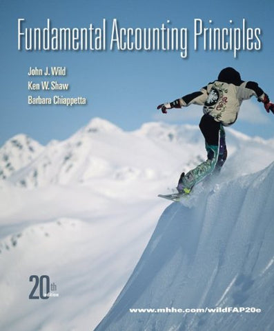 Loose-Leaf Fundamental Accounting Principles With Connect Plus
