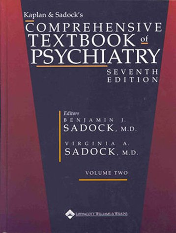 Kaplan & Sadock'S Comprehensive Textbook Of Psychiatry (2 Volume Set)