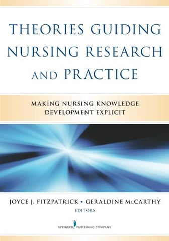 Theories Guiding Nursing Research And Practice: Making Nursing Knowledge Development Explicit