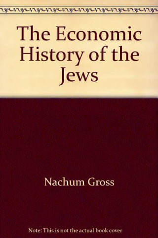 The Economic History Of The Jews