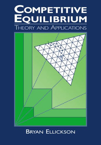 Competitive Equilibrium: Theory And Applications
