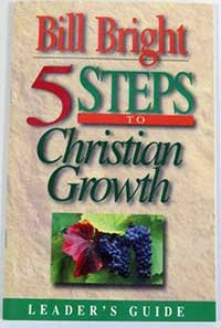 5 Steps Of Christian Growth (Leader'S Guide)
