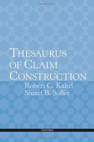 Thesaurus Of Claim Construction