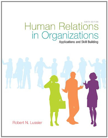 Human Relations In Organizations With Premium Content Code Card
