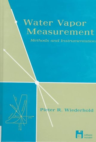 Water Vapor Measurement: Methods And Instrumentation