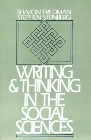Writing And Thinking In The Social Sciences