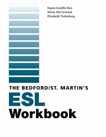 Bedford/St. Martin'S Esl Workbook