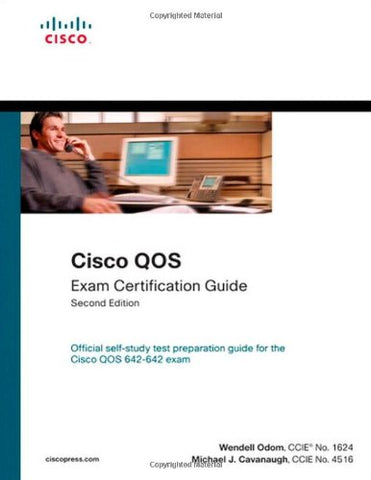 Cisco Qos Exam Certification Guide (Ip Telephony Self-Study) (2Nd Edition)