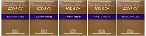 Structured Clinical Interview For Dsm-5 Disorders (Scid-5-Cv): Clinician Version