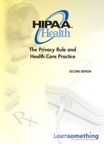 Student Access Code Card For Hipaa Privacy: The Privacy Rule And Health Care Practice