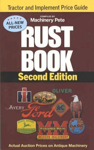 Rust Book 2Nd Edition (Rust Book Bi-Annual Antique And Classic Price Guides)