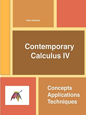 Contemporary Calculus Iv