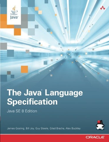The Java Language Specification, Java Se 8 Edition (Java Series)