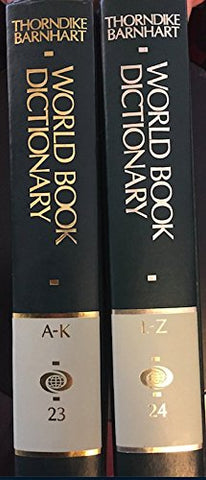 The World Book Dictionary (Two Volume Set)
