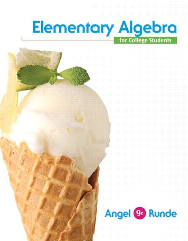 Elementary Algebra For College Students, Books A La Carte Edition Plus New Mylab Math With Pearson Etext - Access Card Package (9Th Edition)