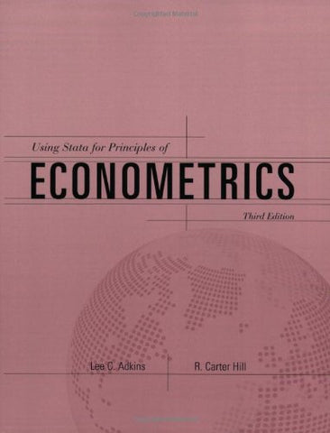 Using Stata For Principles Of Econometrics