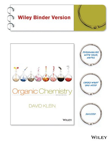 Organic Chemistry, Binder Ready Version