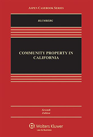 Community Property In California (Aspen Casebook)