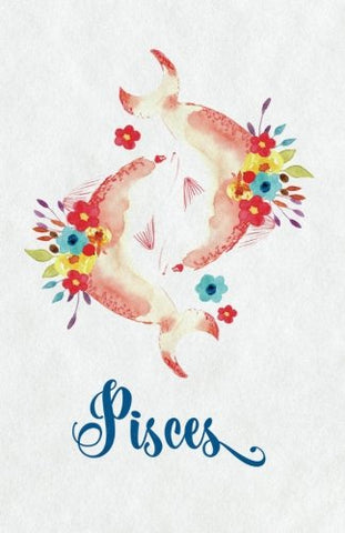 Pisces Zodiac Creative Notebook Journal: Creative Journal: 5.5 X 8.5, Cream Paper, 5Mm Dot Grid, 150 Pages