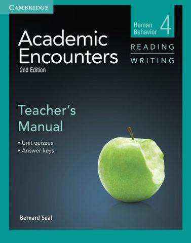 Academic Encounters Level 4 Teacher'S Manual Reading And Writing: Human Behavior