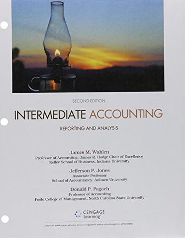 Bundle: Intermediate Accounting: Reporting And Analysis, Loose-Leaf Version, 2Nd + Cengagenowv2, 2 Terms  Printed Access Card