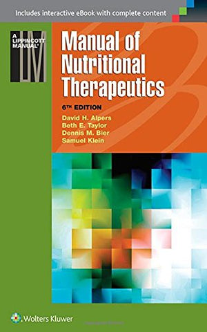Manual Of Nutritional Therapeutics (Lippincott Manual Series)