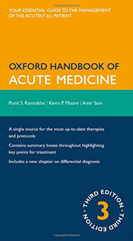 Oxford Handbook Of Acute Medicine (Oxford Medical Handbooks)