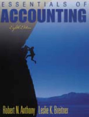 Essentials Of Accounting (8Th Edition)