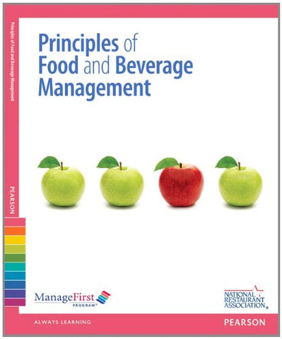 Managefirst: Principles Of Food And Beverage Management With Online Test Voucher (2Nd Edition)