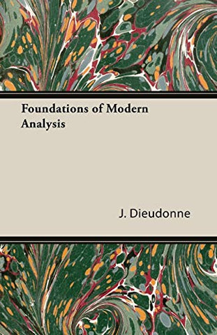 Foundations Of Modern Analysis