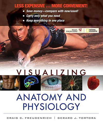 Visualizing Anatomy And Physiology 1E Binder Ready Version + Wileyplus Registration Card