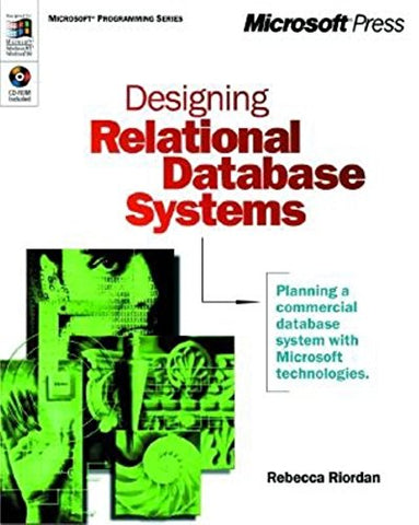 Designing Relational Database Systems (Dv-Mps Designing)