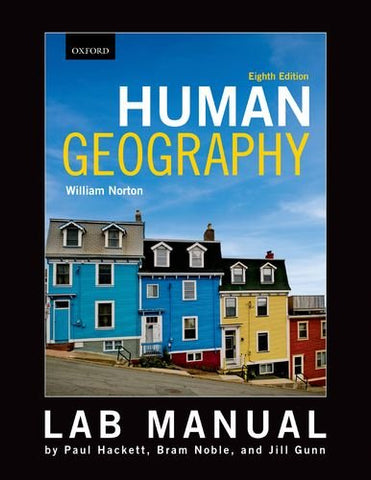 Lab Manual To Accompany William Norton'S Human Geography